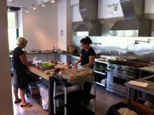 Burger Prep at The Culinary Studio