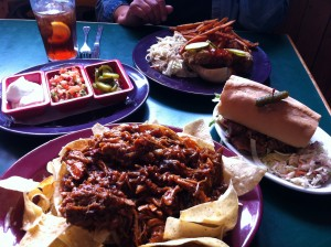 Spread at the Lancaster Smokehouse