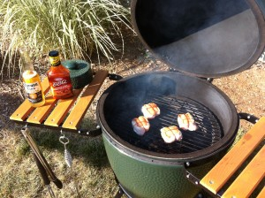 Chicken on the Big Green Egg