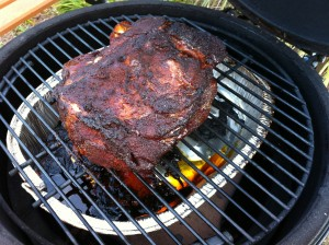 Pork Shoulder on the Big Green Egg